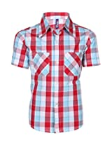 Tickles Boys Shirt(TIBSH000005A_6-7Y_Red_6-7Y)