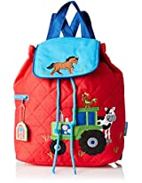 Stephen Joseph Quilted Backpack, Farm