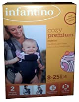 Infantino Cozy Premium Carrier Pink 8 - 25lbs.