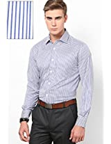 Blue Slim Fit Shirt