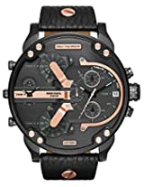 Diesel Chronograph Black Dial Men's Watch - DZ7350