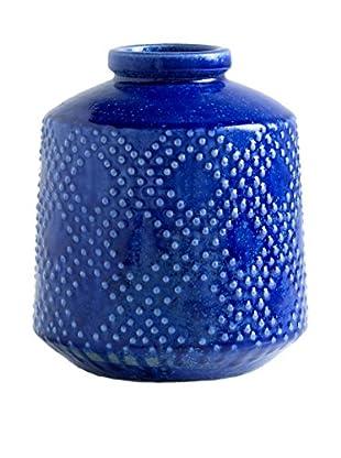 Aishe Vase, Indigo