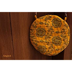 August by Ritu Cipy Circular Pochette Bag