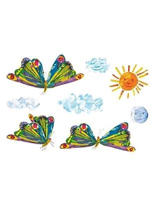 Beiwanda Kids Wandtattoo Die kleine Raupe Nimmersatt - Schmetterlinge