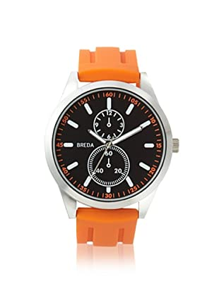 Breda Men's 8153 Connor Orange/Black Alloy Watch