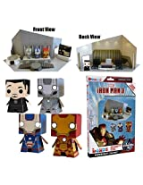 'Iron Man 3' Boxos Papercraft ~4 Figure Playset