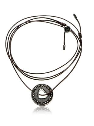 Marc O´Polo Halskette Silber Herzmünze