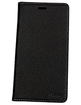 nCase Flip Cover for Samsung Galaxy J7 (Black)