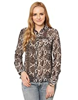 Oxolloxo Women's Printed Shirt