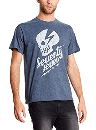 SEVENTYSEVEN Camiseta Manga Corta Punk Rock