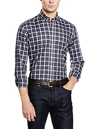 Hackett London Camisa Hombre Forest Tartan Chk
