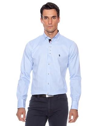 Devota & Lomba Camisa Botones (Azul)