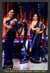 Bollywood Madhuri Dixit Navy Blue Saree
