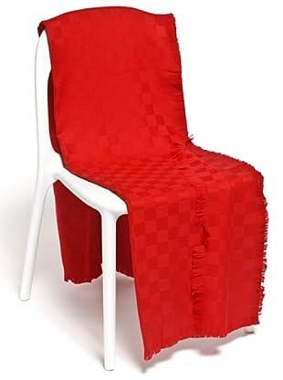 Frette Plaid 100% Merino Wool (rosso)