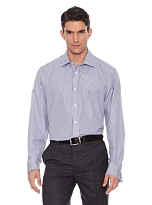 Hackett Camisa city beng str navy (Marino)