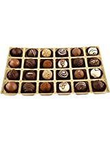Belgian Style Pralines box of 24 - 290 grams