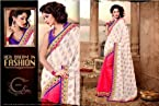 Designer Wiskos Georget Butti + Cotton Butti Saree WF-3053