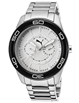 Men'S Tube Stainless Steel White Dial (Pu102982001)
