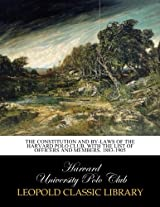 The constitution and by-laws of the Harvard Polo Club, with the List of Officers and Members, 1883-1905