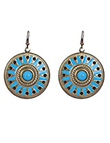 Saadi Gali Enamel Dangle & Drop Women Blue