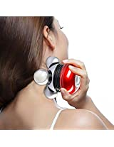 UFO-shape Mini Full Body Neck Scalp Vibrator Relaxing Massager