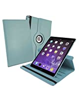 Tuff-Luv 360 degree Rotating Case Cover for iPad Pro (Sleep / Wake Function) - Blue