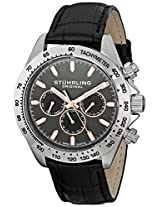 Stuhrling Original Triumph Classic Analog Grey Dial Men's Watch - 564L.01