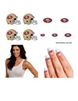 San Francisco 49ers Temporary Tattoo Fan Pack