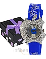 geneva kids blue dial watch (gas-blue)