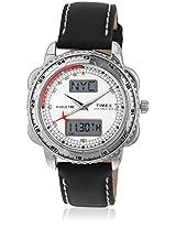 Lr00 Black/Silver Analog Watch