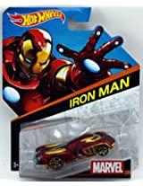 Hot Wheels 1:64 Marvel Series No 1/12 - Iron Man, Multi Color
