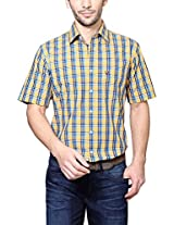 Allen Solly Yellow Shirt