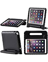 iPad Air 2 Case, i-Blason Apple iPad Air 2 Case for Kids [ArmorBox Kido Series] Light Weight Super Protection Convertable Stand Cover for iPad Air 2nd Generation 2014 Release (iPad Air 2, Black)