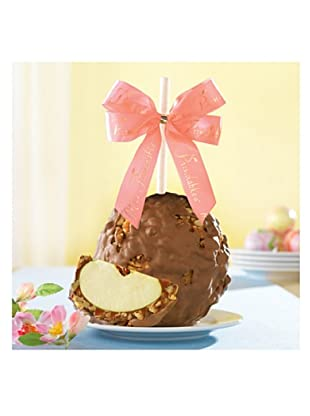Mrs. Prindable's Milk Chocolate Walnut Pecan Jumbo Apple, Pink Ribbon