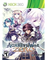 Record of Agarest War Zero - Limited Edition (Xbox 360)