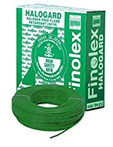 Finolex 2.5-Sqmm Halogen Free Flame Retardant Cable (Green)