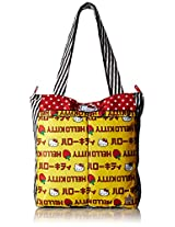 Ju-Ju-Be Hello Kitty Collection Be Light Tote Bag, Strawberry Stripes