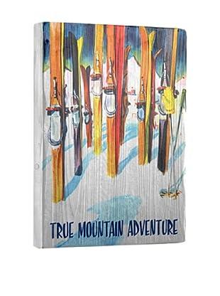Artehouse True Mountain Adventure-Winter Park Reclaimed Wood Sign