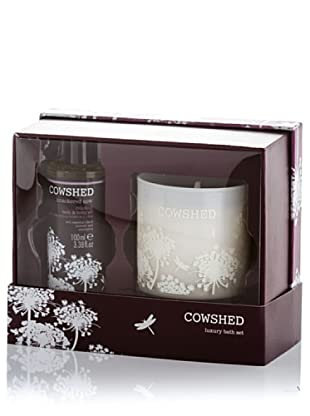 Cowshed Set de Lujo Vela de Baño: 235 g - Oil: 100 ml