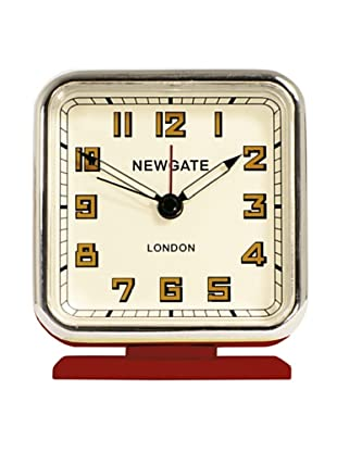 Newgate The Strand Mini Alarm Clock, Red