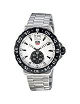 Tag Heuer Formula 1 Grande Date White Dial Stainless Steel Men'S Watch - Thwau1111Ba0858
