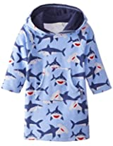 Jojo Maman Bebe Unisex Baby Toweling Hooded Pull On, Shark, 12 24 Months