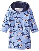 Jojo Maman Bebe Unisex Baby Toweling Hooded Pull On, Shark, 12 24 Months