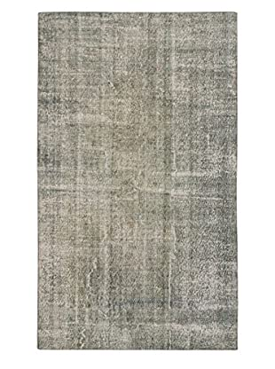 eCarpet Gallery One-of-a-Kind Hand-Knotted Color Transition Rug, Grey, 5' 4