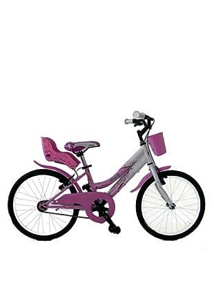 GIANNI BUGNO Bicicleta Steel Btt Rosa / Blanco