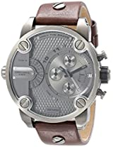 Diesel The Daddie Analog Grey Dial Men's Watch - DZ7258