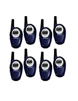 8 COBRA CX297A 25 Mile 22 Channel FRS/GMRS Cop Police Walkie Talkie 2-Way Radios