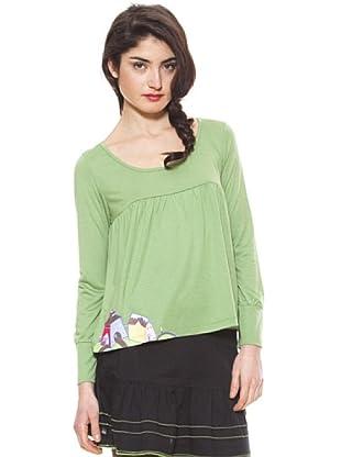 La Casita de Wendy Camiseta Casa (Verde)