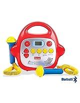 2 Microphone Karaoke Machine Bluetooth/Mp3/Aux Connectivity Portable & Lightweight Karaoke Player For Kids Music Sing Along