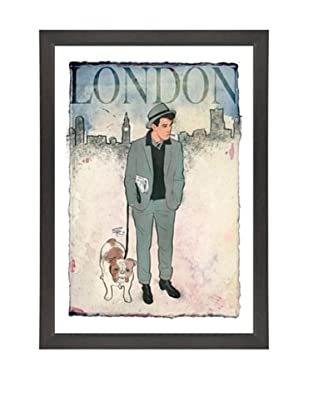 Oliver Gal Esquire Gentleman II Framed Art